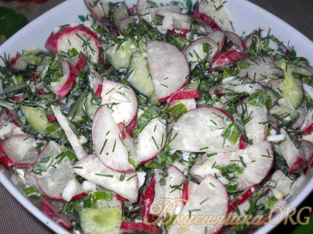 салаты из редиски с фото