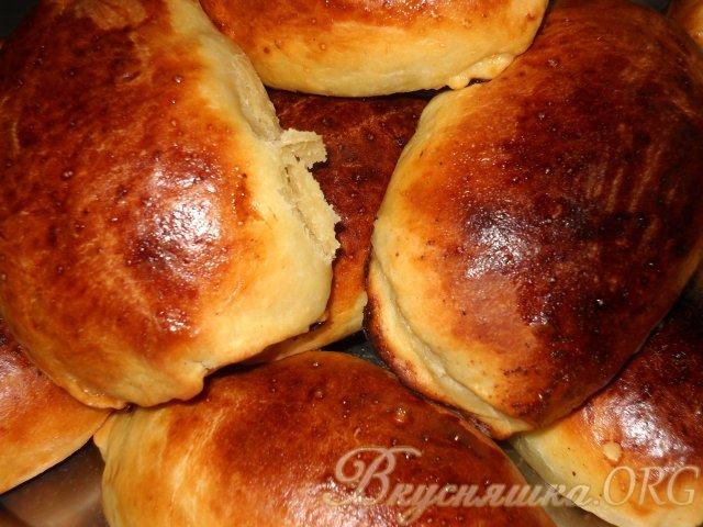 Пироги в духовке с творогом
