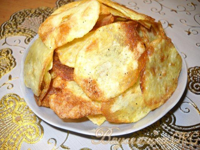 как сделать домашние чипсы в духовке рецепт