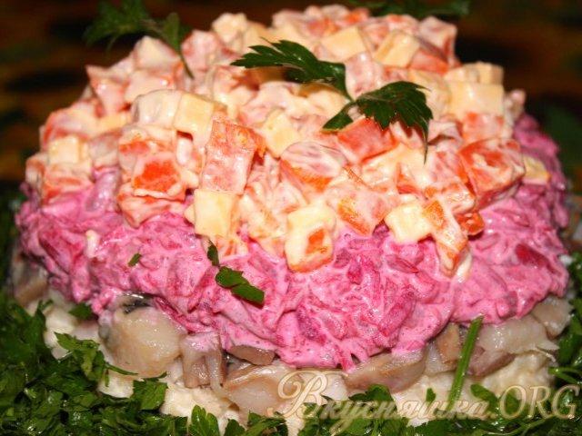 рецепты приготовления маслят салат