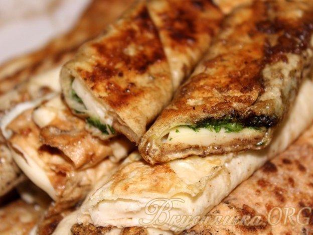 рецепт сырных палочек из лаваша