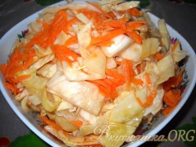 Маринованная капуста по корейски